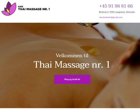 Thai Massage Nr 1