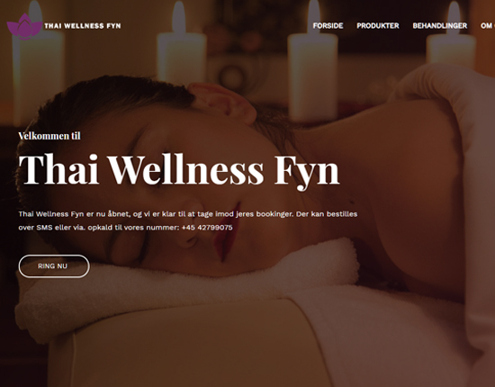 Thai Wellness Fyn Screenshot